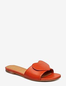Amina, 538 Mandarin Leather Shoes - MANDARIN