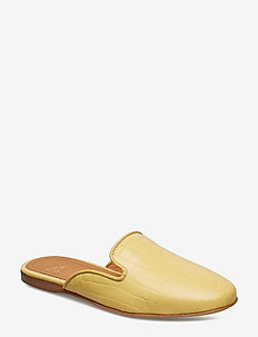 Scarlett, 541 Croco Shoes - GOLDEN HAZE