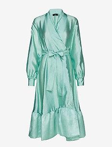 Niki, 576 Textured Polyester - 1708 JADE