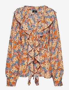 Mila, 567 Flowers Silk - 1510 DAISY FIELD