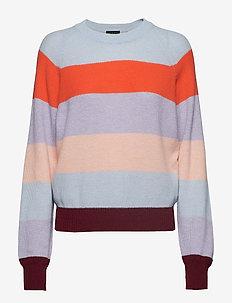 Magdalena, 584 Stripes Knitwear - 1331 STRIPES DUSK
