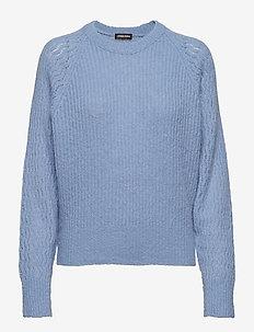 Jack, 583 Fluffy Knit - 1642 LIGHT BLUE
