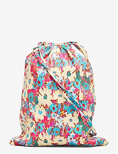 Drawstring Bag, 569 Structure Stret - 1707 DAISY FIELD TEAL