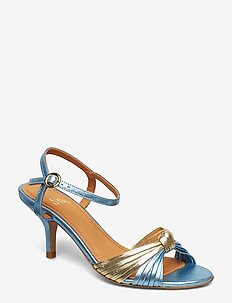 Olly, 599 Metallic Leather Shoes - 1135 METALLIC