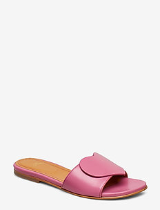 Amina, 587 Leather Shoes - 1448 HOT PINK