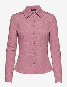 Jana, 624 Glitter Jersey - ROSE PINK LUREX