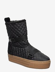 Joan, 679 Winter Boots - niski obcas - black