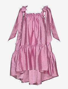 Serena, 784 Textured Poly - kort kjoler - pink