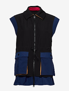 Evia, 800 Tech Outerwear - vests - black