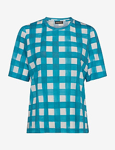 Leonie, 840 Allover Tee - t-shirts - gingham