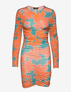 Blake, 841 Rayon Jersey - korte kjoler - flora