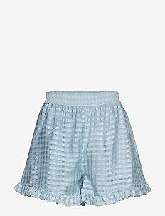 Joselyn, 864 Gingham Poly - casual shorts - ice