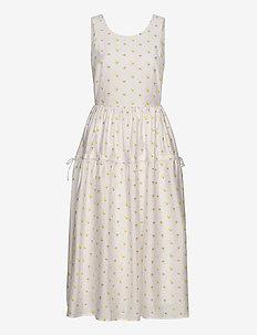 Tulula, 880 Jasmine Taffeta - midi kjoler - jasmine white