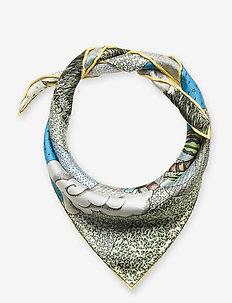 Tilda, 867 Silk Scarves - sjalar & halsdukar - dreamscape aqua
