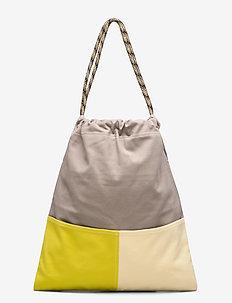 Aubrey, 849 Bag - bucket-vesker - sulphur sand