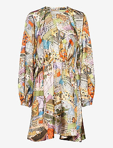 Coco, 926 Silk Twill - korte kjoler - city