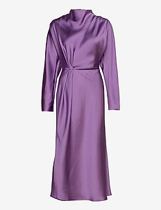 Damai, 936 Lilac Sheen Cady - midi kjoler - lilac