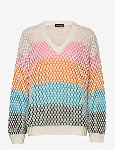 Jodi, 964 Moss Knit - trøjer - multicolour