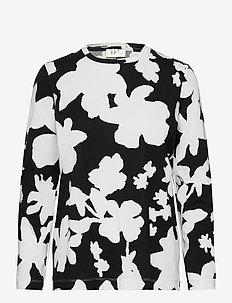 Roxanne, 1000 Allover Tee - long-sleeved tops - daisy