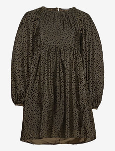 Kelly, 1034 Textured Poly - short dresses - meadow flock
