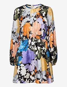 Coco, 1079 Silk Twill - kurze kleider - flora