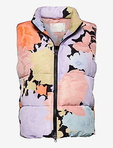 Leonor, 1043 Down Outerwear - polstrede vester - floral mix