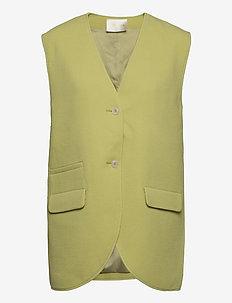 Hilma, 1114 Pistachio Tailoring - puffer vests - pistachio