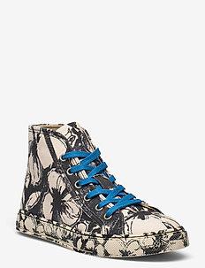 Zita, 1192 Cotton Canvas Sneakers - sneakersy niskie - opium negative