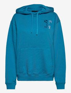 Jamila, 1223 Tracksuit Goya - sweatshirts & hættetrøjer - blue jewel