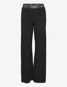 Marc, 1230 Solid Stretch - uitlopende broeken - black