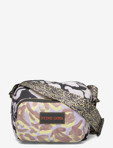 Lotta, 1262 Nylon Bags - shoulder bags - abstract leaf