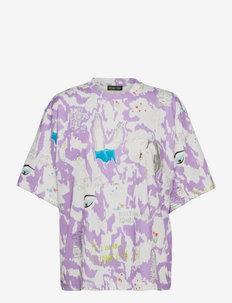 Marga, 1222 Allover Tee - t-shirts - grunge euphoria