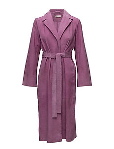 Luisa, 349 Suede Outerwear - ORCHID
