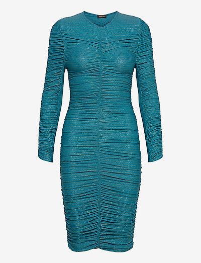 Blake, 850 Glitter Jersey - fodralklänningar - turquoise