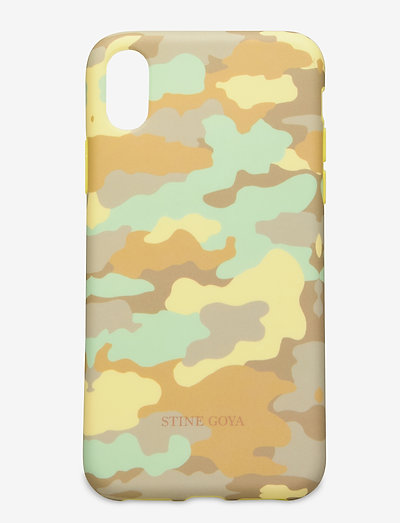 Molly, Iphone Cover X - mobilskal - camouflage green
