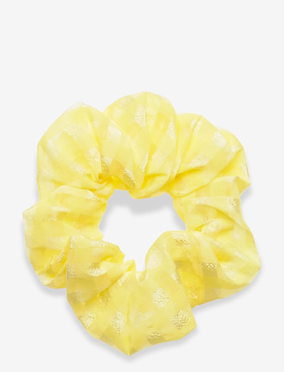 Scrunchy, 864 Gingham Poly - accessoires - marigold