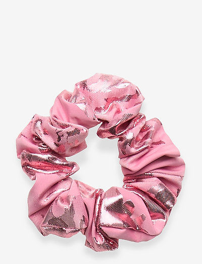 Scrunchy, 856 Metallic Jacquard - hår accessories - rose lurex