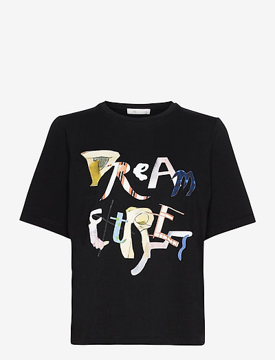 Leonie, 1000 Placement Tee - t-shirts - dream extreme