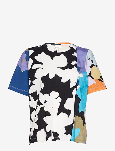 Leonie C, 1000 Allover Tee - t-shirts - floral mix