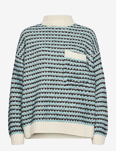 Nalin, 1056 Tweed Knitwear - tröjor - sand