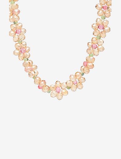 Illianna, 1066 Jewelry - statementhalsband - dusty pink