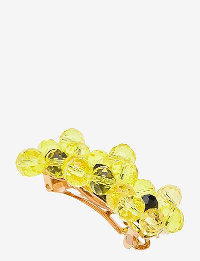 Finesa Hairclip, 1066 Jewelry - accessoarer - yellow