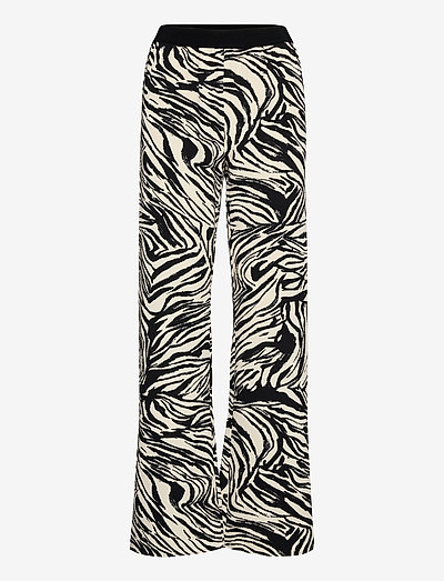 Marc, 1092 Structure Stretch - vida byxor - zebra black