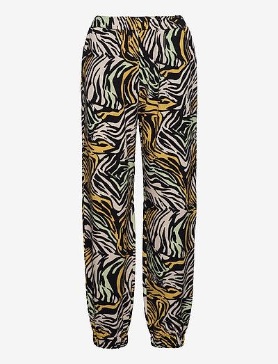 Zaza, 1093 Tracksuit Zebra - raka byxor - zebra multi