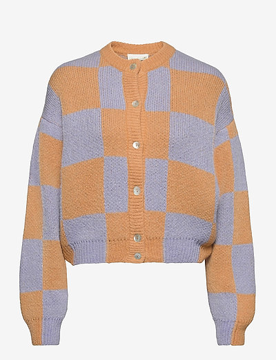Ash, 1145 Alpaca Knit - koftor - checks