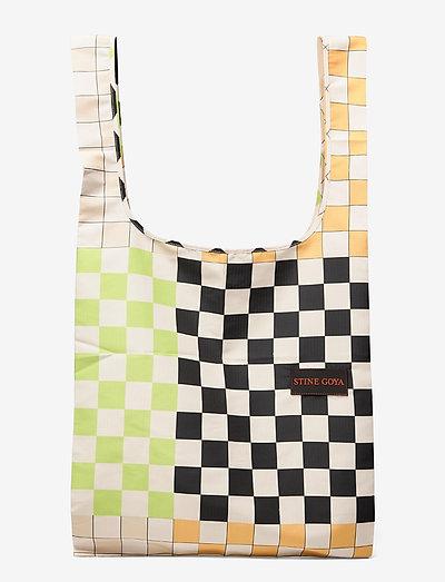 Idunn, 1134 Shopping Bag - väskor - checks