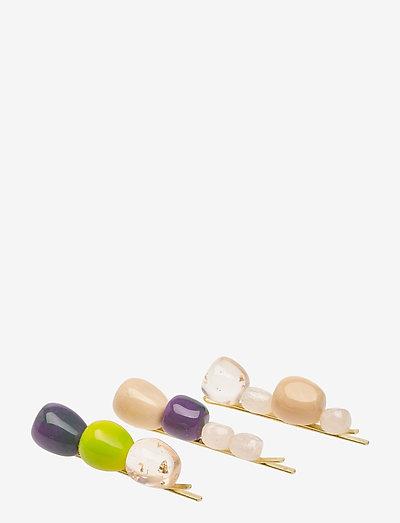 Ania 1135 Jewelry - hårspænder - lime