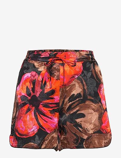 Dane, 1167 Pajama Jacquard - casual shorts - opium brown