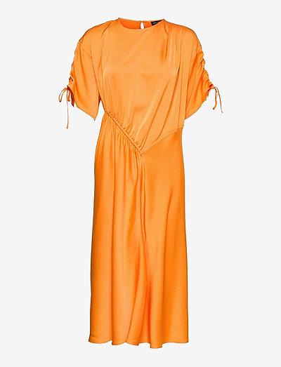 Davina, 1168 Solid Cady - cocktailkjoler - orange