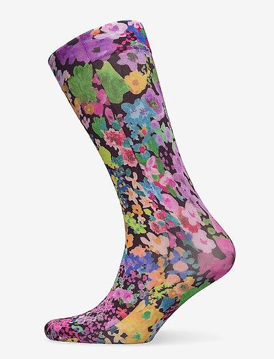 Verita, 1189 Socks - sokker - 60s allover